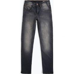 Garcia - Jeansy chłopięce super slim fit – Xandro, szary. Szare chinosy chłopięce Garcia, z jeansu. Za 169,95 zł.