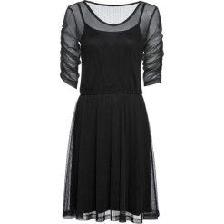 Sukienka koronkowa bonprix czarny. Czarne sukienki koronkowe marki bonprix. Za 89,99 zł.
