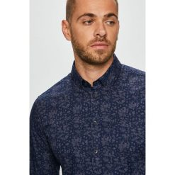 Casual Friday - Koszula. Czarne koszule męskie na spinki marki TOM TAILOR DENIM, l, z bawełny, button down, z długim rękawem. Za 219,90 zł.