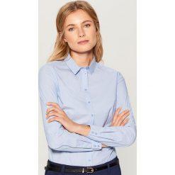 Koszula z body - Niebieski. Czerwone koszule damskie marki OLAIAN, z materiału, sportowe. Za 89,99 zł.