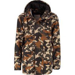 RVLT HEAVY Krótki płaszcz multi coloured. Brązowe płaszcze męskie marki RVLT, l, z bawełny. W wyprzedaży za 671,20 zł.