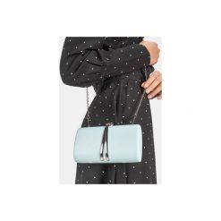 Puzderka: Niebieska torebka typu kopertówka Fisterra