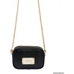 Torebka na ramię NOA Chain bag. Czarne torebki klasyczne damskie Pakamera. Za 165,00 zł.