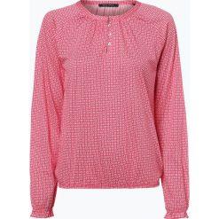 Marc O'Polo - Damska koszulka z długim rękawem, różowy. Czerwone t-shirty damskie Marc O'Polo, l, polo. Za 149,95 zł.