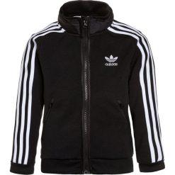 Kurtki chłopięce przeciwdeszczowe: adidas Originals Kurtka sportowa black/medium grey heather/white