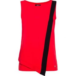 Bluzka. Czerwone bluzki asymetryczne Simple, xs, z asymetrycznym kołnierzem. Za 99,90 zł.