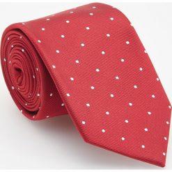 Krawat - Czerwony. Czerwone krawaty męskie Reserved. Za 49,99 zł.