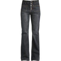 Jeansy damskie: Fashion Victim Rockabilly Jeans Jeansy damskie ciemnoszary