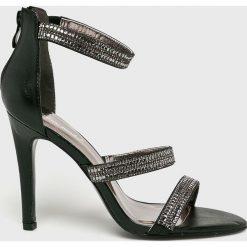 Answear - Sandały Super Mode. Szare sandały damskie marki ANSWEAR, z gumy. W wyprzedaży za 99,90 zł.
