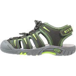 Sandały męskie skórzane: Richter Sandały trekkingowe pebble/neon mais