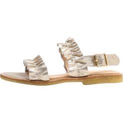 ANGULUS Sandały silver glitter. Szare sandały damskie ANGULUS, z materiału. W wyprzedaży za 421,85 zł.
