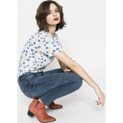 Medicine - Jeansy Basic. Niebieskie jeansy damskie rurki MEDICINE, z bawełny. W wyprzedaży za 59,90 zł.