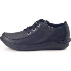 Clarks Unstructured FUNNY DREAM Sznurowane obuwie sportowe black. Czarne buty sportowe damskie Clarks Unstructured, z materiału. Za 389,00 zł.