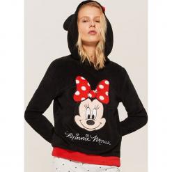 Bluza piżamowa Minnie Mouse - Czarny. Czarne piżamy damskie marki House, l, z motywem z bajki. Za 59,99 zł.