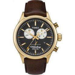 Zegarek Timex Męski TW2P75300 Waterbury Collection brązowy. Brązowe zegarki męskie Timex. Za 359,99 zł.
