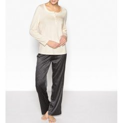Piżamy damskie: Piżama satynowa