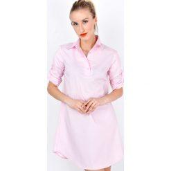 Sukienki: Sukienka koszulowa z kołnierzykiem
