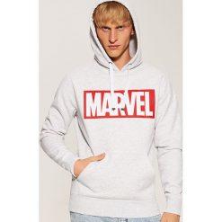 Bluza z nadrukiem Marvel - Jasny szar. Szare bluzy męskie rozpinane House, l, z motywem z bajki. Za 119,99 zł.