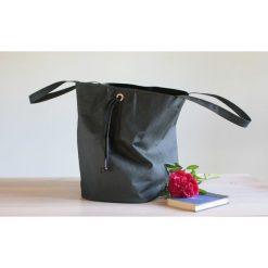 Torba z washpapa XXXL +regulacja wielkości. Szare torby na ramię męskie marki Pakamera, ze skóry, na ramię, duże. Za 285,00 zł.