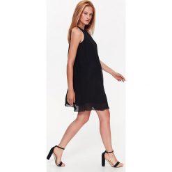 Sukienki hiszpanki: PLISOWANA SUKIENKA Z DEKOLEM HALTER