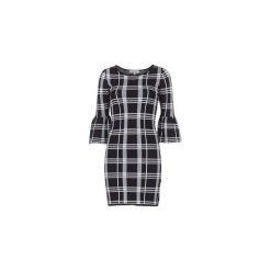 Sukienki krótkie Morgan  RWIN. Sukienki małe czarne marki Morgan, m, z krótkim rękawem. Za 263,20 zł.
