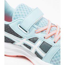 ASICS PATRIOT 9 Obuwie do biegania treningowe porcelain blue/white/flash coral. Czarne buty sportowe chłopięce marki Asics, do biegania. Za 199,00 zł.