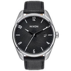 Zegarki damskie: Zegarek damski Black Nixon Bullet Leather A4731000