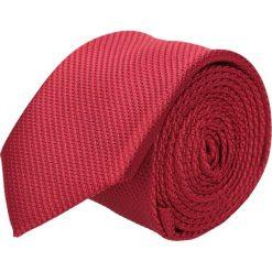 Krawat platinum czerwony classic 211. Czerwone krawaty męskie Recman, z aplikacjami, z tkaniny, eleganckie. Za 49,00 zł.