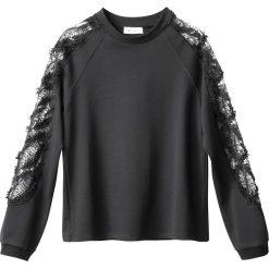 Swetry damskie: Bluzka z rękawami koronkowymi
