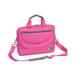 """Sumdex PON-306RR 12"""" - 14"""" różowa. Czerwone torby na laptopa Sumdex, w paski. Za 59,00 zł."""