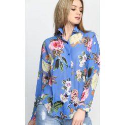 Niebieska Koszula Gentle Woman. Niebieskie koszule damskie Born2be, na lato, s. Za 69,99 zł.