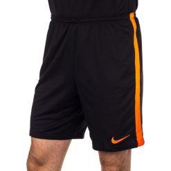 Spodenki i szorty męskie: Nike Spodenki męskie Squad Long Knit Nike czarno-pomarańczowe r. L (619225-013)