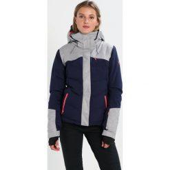 Roxy FLICKER Kurtka snowboardowa peacoat. Białe kurtki sportowe damskie marki Roxy, l, z nadrukiem, z materiału. W wyprzedaży za 1071,75 zł.