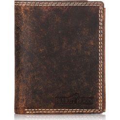 Brązowy PORTFEL MĘSKI BLUE & BURRY OCHRONA KART RFID. Czarne portfele męskie marki Pakamera, ze skóry. Za 99,00 zł.