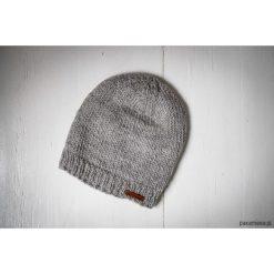 Czapka wełniana z polarem handmade Feltiness. Szare czapki zimowe damskie Pakamera, z polaru. Za 72,00 zł.