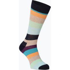 Happy Socks - Skarpety męskie, niebieski. Niebieskie skarpetki męskie marki Happy Socks, w kolorowe wzory. Za 29,95 zł.