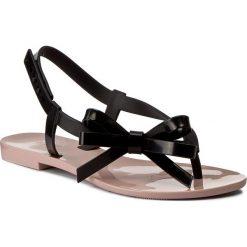 Chodaki damskie: Japonki MELISSA - Harmonic Sandal Ad 32199 Pink/Black 51647