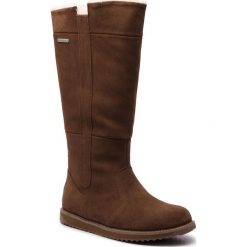 Buty EMU AUSTRALIA - Moonta W11799 Oak. Brązowe buty zimowe damskie EMU Australia, ze skóry. Za 989,00 zł.