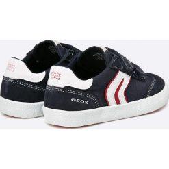 Geox - Tenisówki dziecięce. Szare buty sportowe chłopięce Geox, z gumy. W wyprzedaży za 159,90 zł.