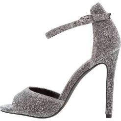 Sandały damskie: New Look SLUR Sandały na obcasie silver