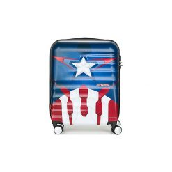 Walizki twarde American Tourister  CAPTAIN AMERICA 55CM 4R. Niebieskie walizki American Tourister. Za 479,00 zł.