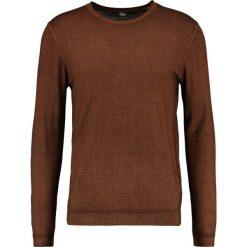 Swetry klasyczne męskie: s.Oliver BLACK LABEL Sweter walnut brown