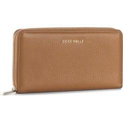 Duży Portfel Damski COCCINELLE - BW5 Metallic Soft E2 BW5 11 04 01 Cuir 012. Czarne portfele damskie marki Coccinelle. W wyprzedaży za 419,00 zł.