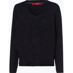 S.Oliver Casual - Sweter damski, niebieski. Niebieskie swetry klasyczne damskie s.Oliver Casual, s, z dzianiny. Za 149,95 zł.