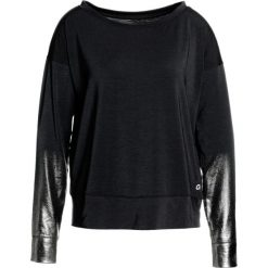 GAP PRINTED Koszulka sportowa true black. Czarne t-shirty damskie GAP, m, z elastanu, z długim rękawem. W wyprzedaży za 126,75 zł.