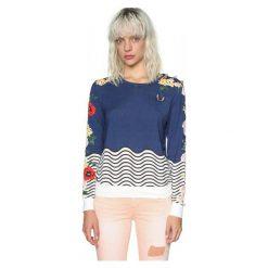 Swetry damskie: Desigual Sweter Damski Xs Ciemnoniebieski