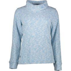 """Golfy damskie: Sweter """"Calandra"""" w kolorze błękitnym"""
