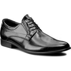 Półbuty LASOCKI FOR MEN - A-5462 Czarny. Czarne buty wizytowe męskie Lasocki For Men, z materiału. Za 229,99 zł.