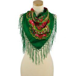 Chusty damskie: Art of Polo Chusta damska  Folk love zielona