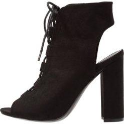Sandały damskie: New Look SPARE Sandały na obcasie black